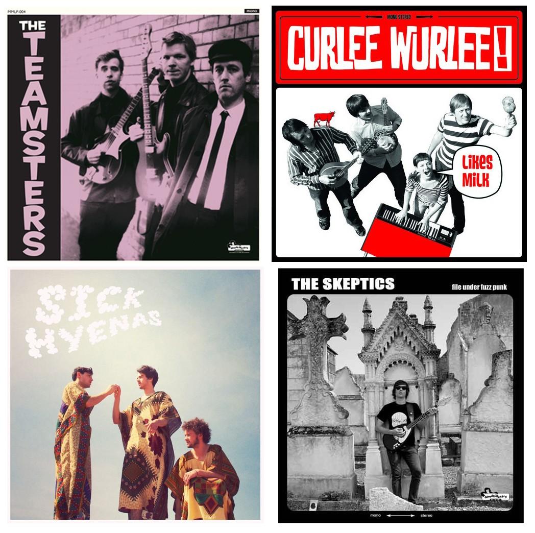 THE TEAMSTERS / CURLEE WURLEE! / SICK HYENAS / THE SKEPTICS