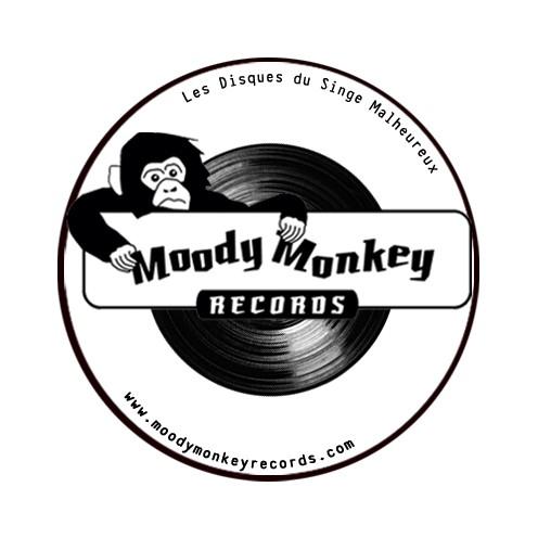 MOODY MONKEY Badge