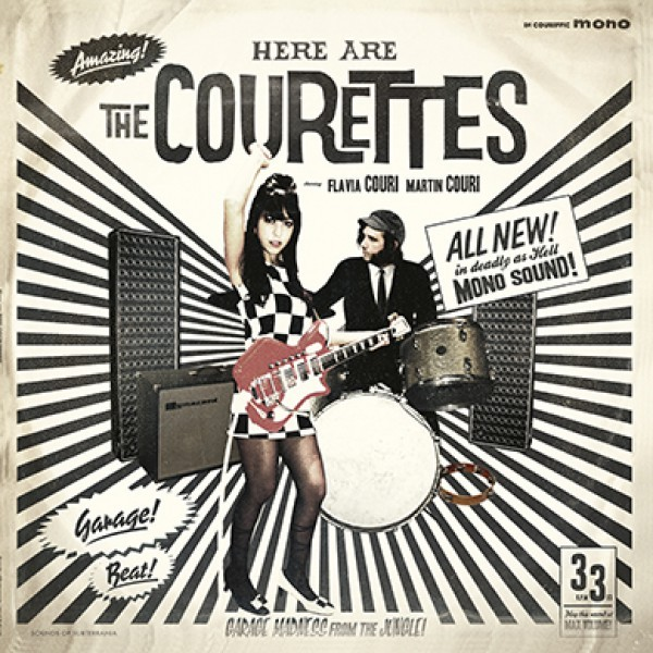 """The Courettes - Here Are The Courettes - 10"""""""