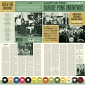 The LAST Of The Garage Punk Unknowns Volume 5 (Gatefold LP)