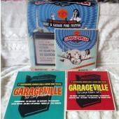 GARAGEVILLE special: all 3 volumes + poster