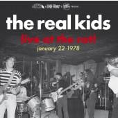 "REAL KIDS ""Live At The Rat! January 22 1978"" Gatefold LP (PRE-ORDER, reservation 2018)"