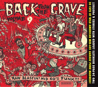 BACK FROM THE GRAVE digipack volumes 9 and 10