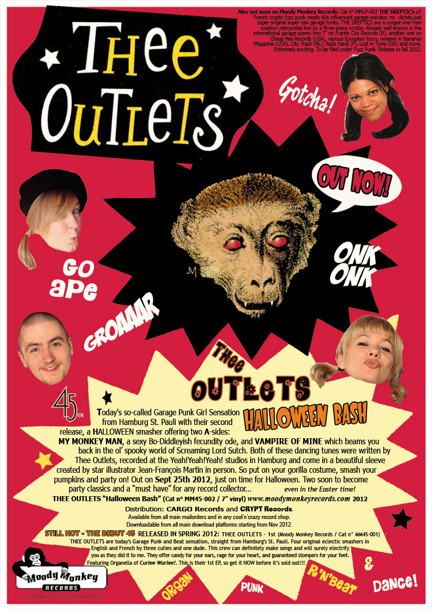 "Thee Outlets - ""Halloween Bash"""