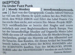 THE SKEPTICS Review Ox fanzine #105